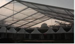 rental tenda roder transparan